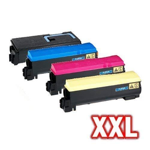 kompatibler XXL Toner Set für Kyocera FS-C5400 FS-C5400DN FS C5400 C5400DN TK570 TK 570 - Toner Set -