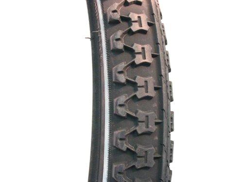 Filmer Fahrradreifen / Fahrraddecke 26 x 1,75 Reflektorstreifen Standard, schwarz, 45327