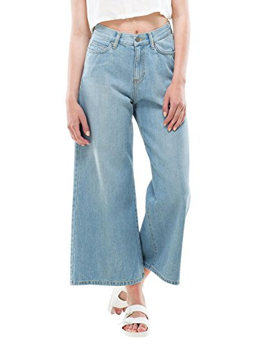 dr-denim-jeansmakers-womens-lykke-cropped-flared-jeans-blue-in-size-29-24-blue