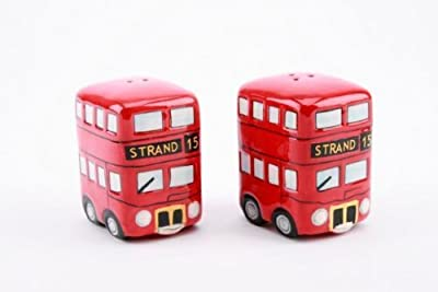 London Strand Bus Salt & Pepper Set Boxed