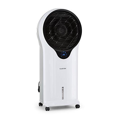 Klarstein Whirlwind • Rafraichisseur d'air • Ventilateur 3-en-1 • Fonction d'humidification • Trois niveaux de puissance • Trois modes • Réservoir de 5,5L • 110W • Filtre amovible