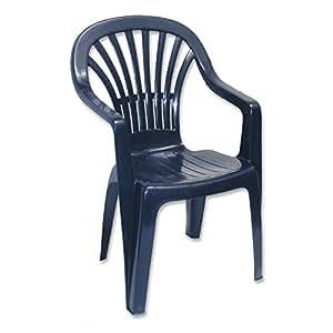 stapelsessel zena blau progarden stapelstuhl gartenstuhl gartensessel. Black Bedroom Furniture Sets. Home Design Ideas