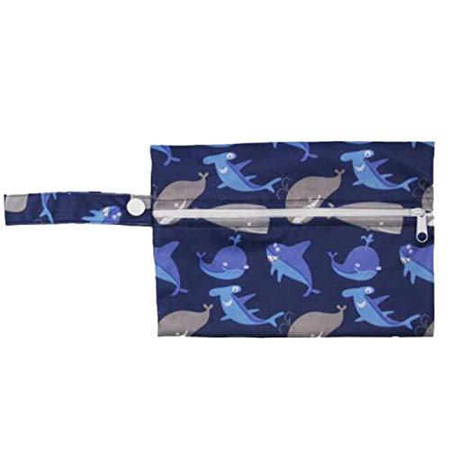 Mini Reißverschlusstasche Stillkissen Nasse Taschen Pul Wasserdicht Nass Trocken Nasse Taschen Mehrwegwindelbeutel H27