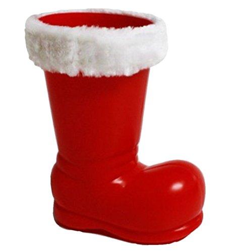 HAAC Nikolaus Stiefel Nikolausstiefel 14 cm x 13 cm x 8 cm für Weihnacht Weihnachten