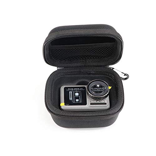 Upxiang Tragbare Stoßfeste Tragetasche für DJI OSMO Action Cam Tragetasche Mini Handheld Bag Box Pouch Actionkameras Erweiterungs Zubehör (A)