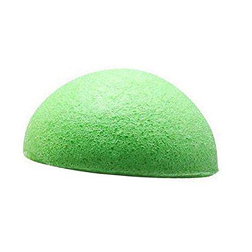 Henreal Facial Puff Natural Konjac Konnyaku Face Wash Cleanco Makeup Sponge grün -
