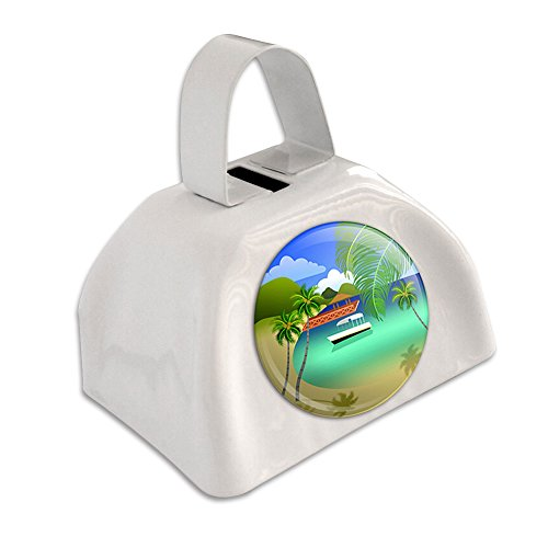 tropical-paradise-travel-palm-tree-white-cowbell-cow-bell