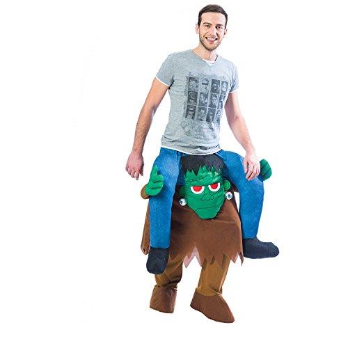 Frankenstein Huckepack-Kostüm Halloween Kostüm Herren & Damen Amscan (Damen Frankenstein Kostüm)