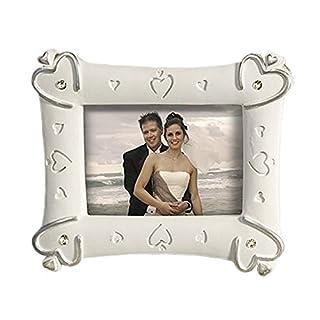 Lywedd® Bilderrahmen mit Herzen Tischkartenhalter Platzhalter Gastgeschenk Herzbilderrahmen
