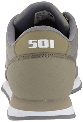 New Balance Herren MZ501D Sneaker, Covert Green/White
