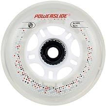 Movemax Powerslide - Ruedas con luz para patines (80 mm, 82a, 2 unidades)