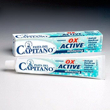 Pasta del Capitano - OX ACTIVE Whitening - Zahnpasta 75ml