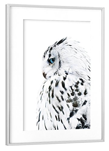 Rahmen Silber 60x40 cm
