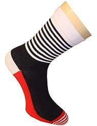 Weri Spezials Chaussettes pour Hommes. Couleur: Rouge, Moderne et Sportive