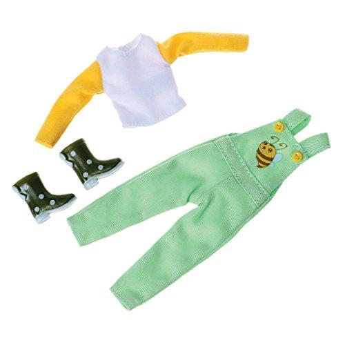 Lottie Kleidung für Puppe LT079 Bee Yourself Outfit Set - Puppen Zubehör Kleidung Puppenhaus Spieleset - Zubehör Kleidung Puppenhaus Spieleset - ab 3 Jahren