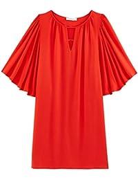 Promod Kleid mit Schmetterlingsärmeln