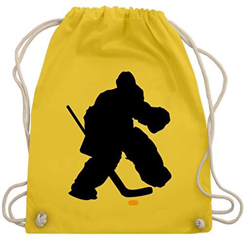 Eishockey - Eishockeytorwart Towart Eishockey - Unisize - Gelb - WM110 - Turnbeutel & Gym Bag