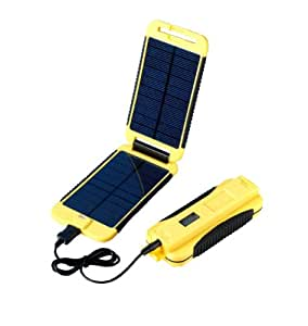 Powertraveller Powermonkey Extreme 5V and 12V Solar Portable Charger - Yellow