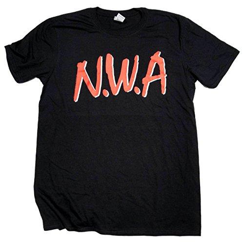 Old Skool Hooligans NWA T Shirt - N.W.A Big Logo 100% Official Rap Hip Hop Tee
