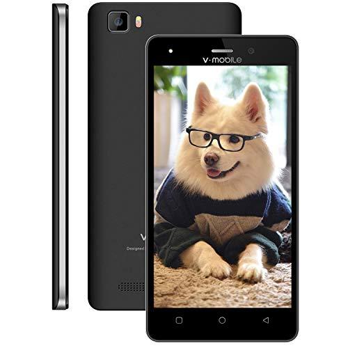 Cellulari Offerte,telefonia mobile A10 Smartphone offerta del giorno Dual SIM, Android 7.0, 5,0 inch HD Quad Core 1GB RAM - 8GB ROM 5.0MP Fotocamera 2800mAh GPS Cellulari in Offerta (Nero)