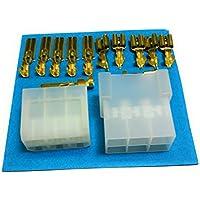 Kit Conector Faston 6 Vías | Conector Macho + Conector Hembra + Terminales