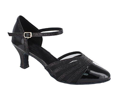 TDA - Ballroom donna 6cm PU Black