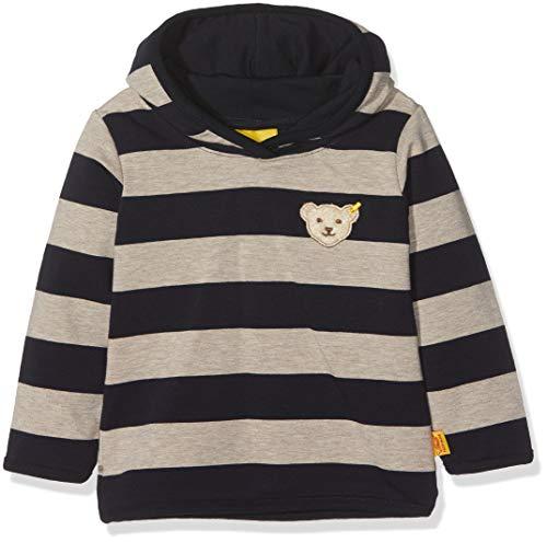 Steiff Baby-Jungen Sweatshirt 1/1 Arm, Blau (Marine|Blue 3032), 74