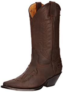 Brown Leather Arizona Cowboy Boots by Grinders