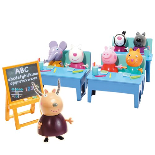 Play set Peppa Pig en el colegio