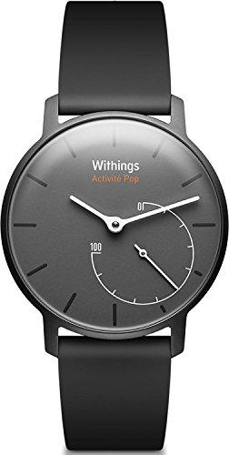 Withings Aktivitätstracker Pop Smart Watch Aktivitäts und Schlaf tracker, Shark Grau, 70077401 - 2