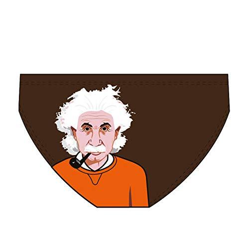 Diapolo Einstein Professioneller Schwimmhose Badehose Wasserballhose Herren Männer S M L XL XXL (L)