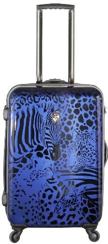 ... 50% SALE ... PREMIUM DESIGNER Hartschalen Koffer - Heys Core Serengeti Metallic Silber - Handgepäck Metallic Blau