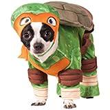 Disfraz de Michelangelo Tortugas ninja para perro - S
