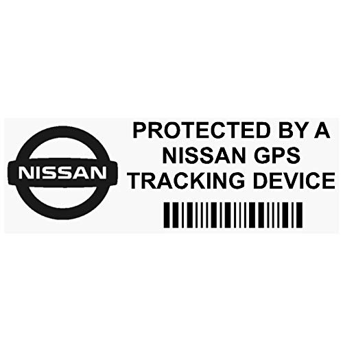 62fd729f25 Platinum Place 5 x PPNISSANGPSBLK GPS BLACK Tracking Device Security WINDOW  Stickers 87x30mm-Car