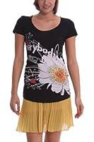 Desigual - capri - t-shirt - imprimé - femme