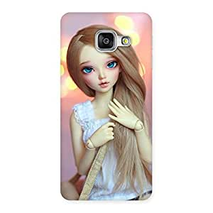 Delighted Doll With Bag Multicolor Back Case Cover for Galaxy A3 2016