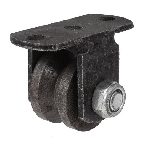 Räder Warenkorb Einfach (Vintage Stil, Gusseisen 3,8cm Dia Caster Rad für Industrial Warenkorb)