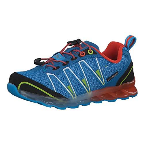 CMP Kinder Trail Running Schuhe Atlak Trail 3Q48264K Indigo-ORANGE 25