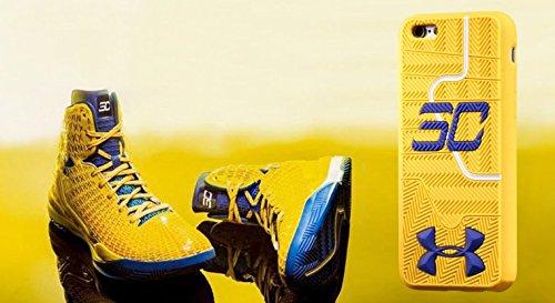 Under Armour Hülle für Apple iPhone 6/6S mit Motiv Stephen Currys Schuhsohle, weich gelb