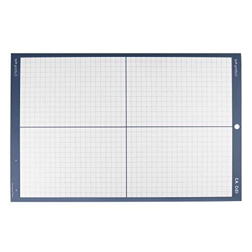 Schneidematte, A3 Vinyl Plotter Rutschfeste Selbstklebende Schneidplatte, Durable Selbst Healing Board für Vinyl Cutter Plotter 18