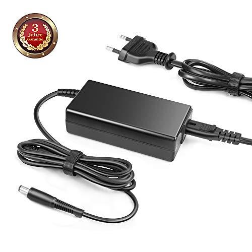 GS TÜV 18,5V 65W Notebook Netzteil für HP Compaq PC 6540b 6715b 6720t G32 G42 G50 G56 G57 G60 G61 G62 6710B 6715B 6730B 6735S 6830S 6910P NC6320 NC6400 NX6310 NX7400 DV4 DV5 DV6 DV7 CQ50 CQ60 EU Kabel -