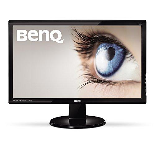 BenQ GL2450HM LED TN 24 inch Widescreen vibrant Monitor (1920 x 1080, 2 ms GTG, VGA, DVI-D, HDMI, Speakers) - Glossy Black UK