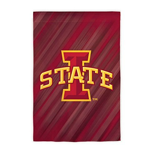 Iowa State University Cyclones Doubled Sided Garden Flag by Fans With Pride
