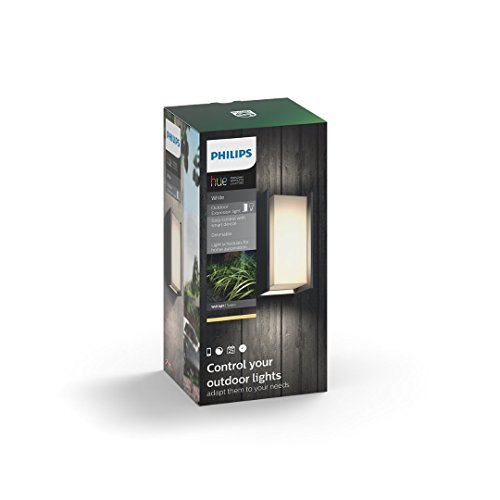 Philips Hue Turaco Outdoor Wall Light - A Rated