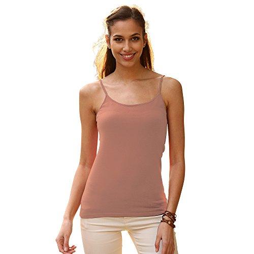 VENCA Camiseta Lisa de Tirantes by Vencastyle
