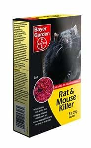 Bayer Garden Poison pour rats et souris 200g
