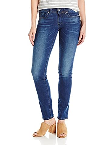 G-STAR RA Damen Jeans Midge Sadde, Bau (Medium Aged 71), 26/28