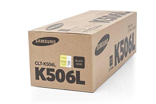 Preisvergleich Produktbild 1x Original XL Toner Samsung CLT-K506L CLP 680ND CLP 680DW - BLACK - Leistung: ca. 6000 Seiten -