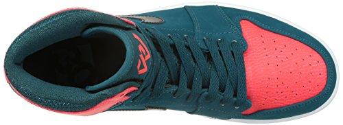Basket Nike Air Jordan 1 Retro High - 332550-312 teal, black-infrared23-white