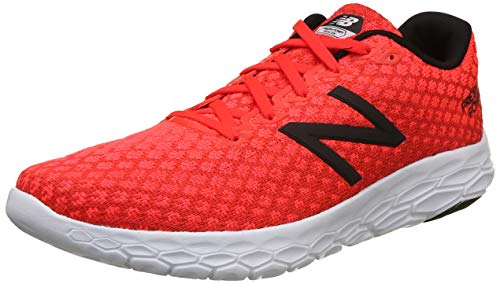New Balance Fresh Foam Beacon, Running Shoes for Men, Red (Team Red / Flame / White RF), 44 EU